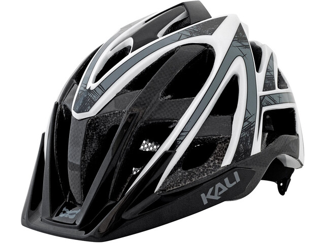 Kali Avana Super Enduro Casque, grey/white